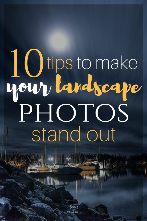 10 tips to transform your landscape photos and make them stand out. Here we cove...