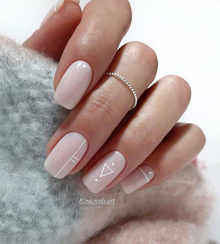 100 Trendy Stunning Manicure Ideas For Short Acrylic Nails Design - Page 33 of 1...