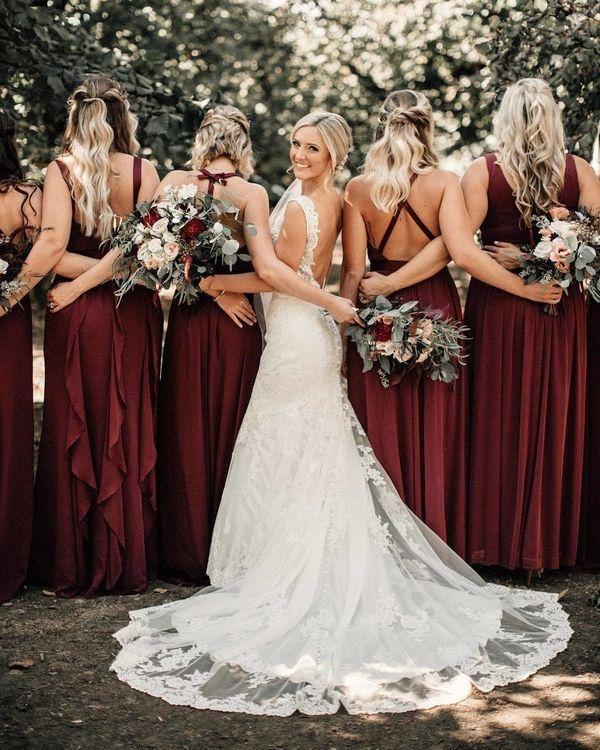 20 Wedding Photo Ideas for your Bridesmaids # Bridesmaids # Wedding Photo #i ...