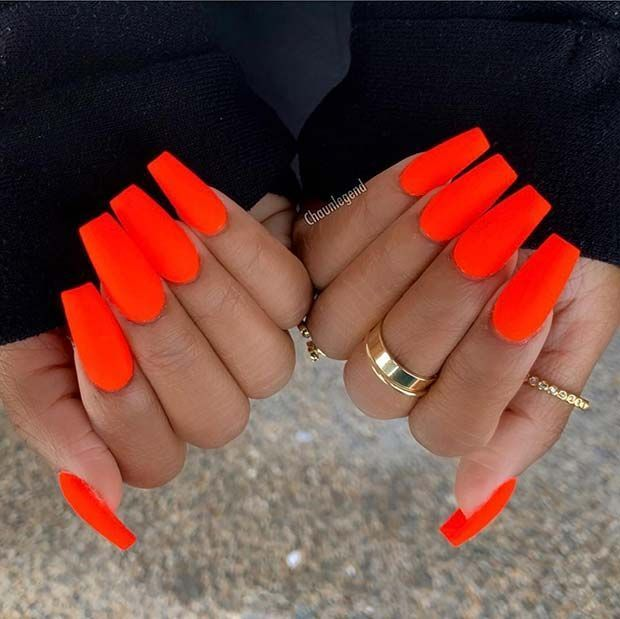 23 Neon Nail Designs That Are Perfect For Summer #Designs #Nail #Neon #Pe ...