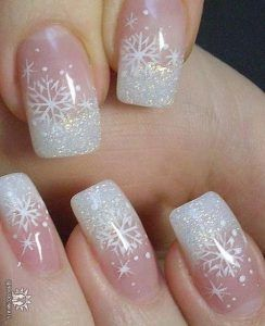 25 Snowflake Nail Designs For Christmas Eve! - Part 14