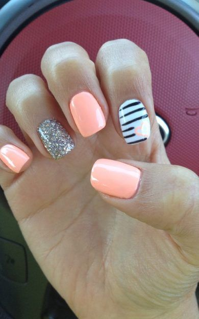 29 Summer Nail Designs on Trend for 2019 Nail Art Ideas