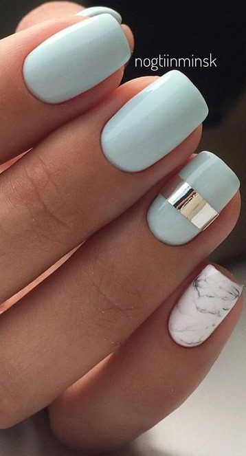 29 Summer Nail Designs That Are Trending for 2019, Summer Nail Designs Nail Desi...