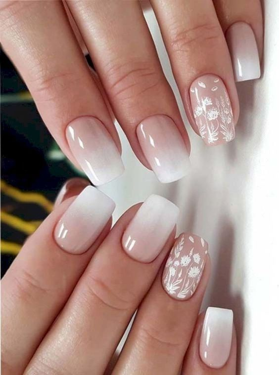 37 PERFECT OMBRE NAIL DESIGN TO UPGRADE YOUR STYLE | Summer Nail Designs