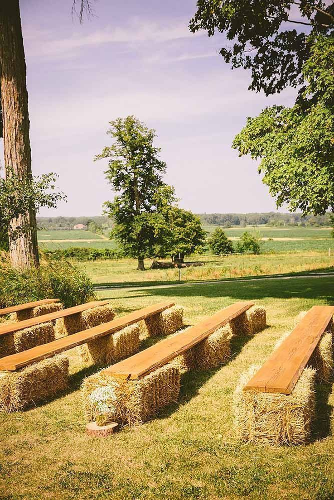 39 Perfect Rustic Wedding Ideas #CountryWedding Perfect Rustic Wedding ...