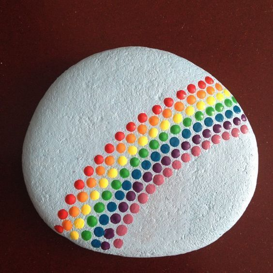 45 Awesome Painted Rocks #offensive #rocks #painted