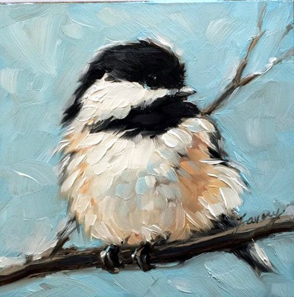 45 Beautiful examples of acrylic painting, #acrylic painting #examples #schone