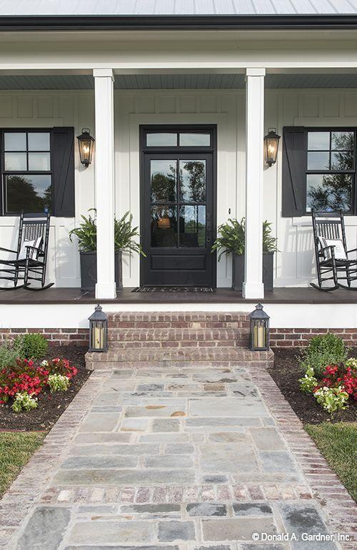 50 neue Designvorschläge für den Vorgarten - #den #Designvorschläge #exterior...