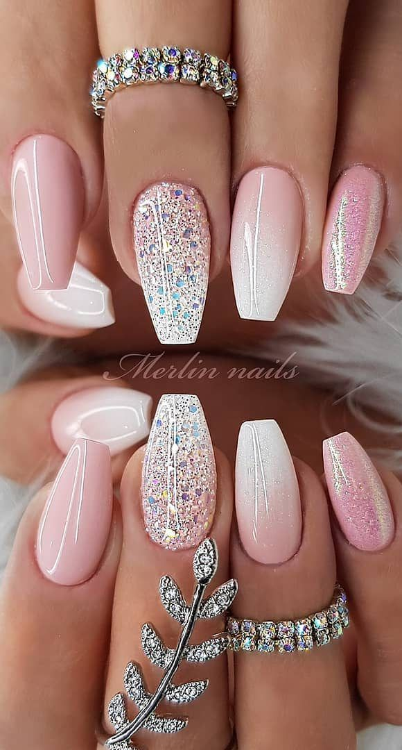 58+ Stylish and Bright Summer Nail Design Colors and Ideas Part 18 #bright #des ...