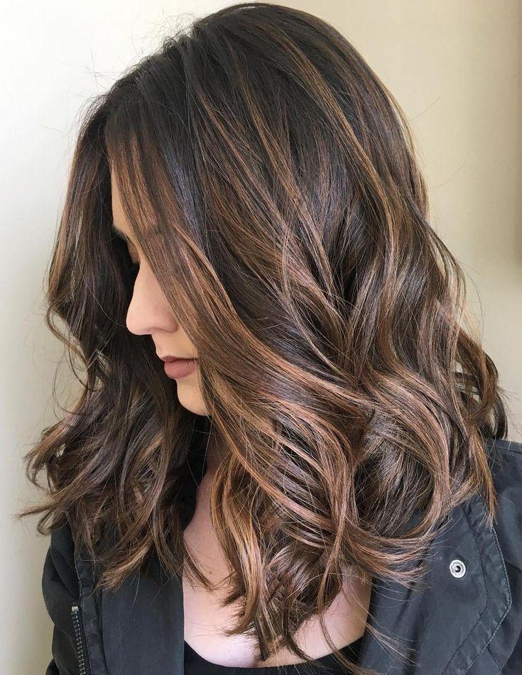 70 Flattering Balayage Hair Color Ideas for 2018 #balayage #Hair Color #Ice ...