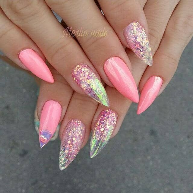 50 magical Unicorn Nail Designs will drive you crazy for #designs #magical # ...