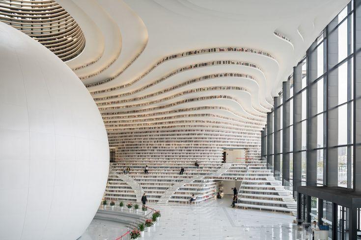 Galería de Biblioteca Tianjin Binhai / MVRDV + Tianjin Urban Planning and Desig...