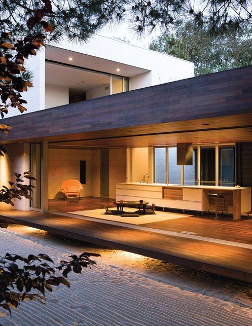 The Wabi house...Japanese architecture in California - Designhunter - Sustainabl...