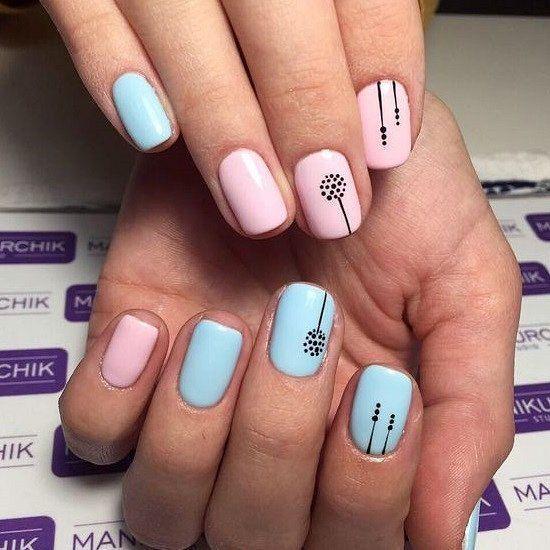 Best Summer Nail Design to Copy in 2019 # nail polish #nailart #summer ...