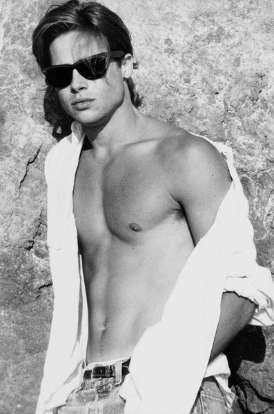 Brad Pitt, his pictures when he was young - # as #Pictures #Brad #jung #Pitt # his ...