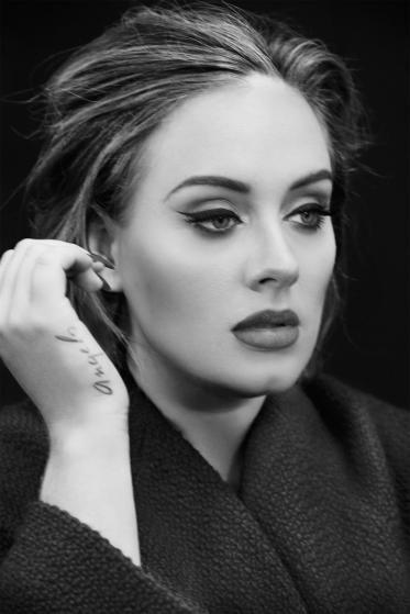 British singer Adele is photographed in New York City on Nov. 19, 2015. #celebri...