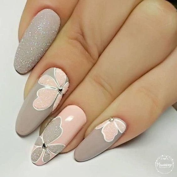 Colorful Stylish Summer Nail Design Ideas for 2019 # gel nails # uñas #gelails ...