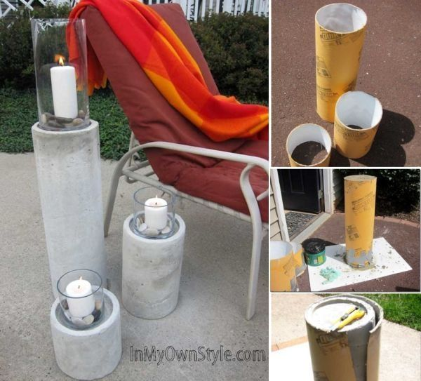 DIY Candle Pillars Pictures, Photos, and Images for Facebook, Tumblr, Pinterest,...