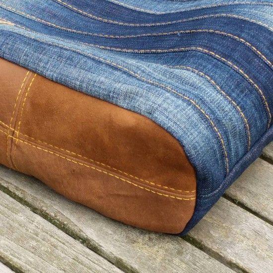 Eine stylische Jeanstasche nähen? Die Nähanleitung und das Schnittmuster für ...