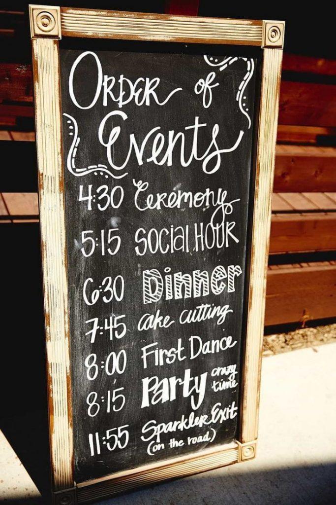Elegant Wedding Signs Cute Ideas - wedding signs chalkboard best cute wedding id...
