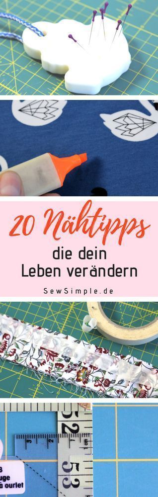 There are a few ingenious sewing tips, tricks and hacks that you absolutely must know ...