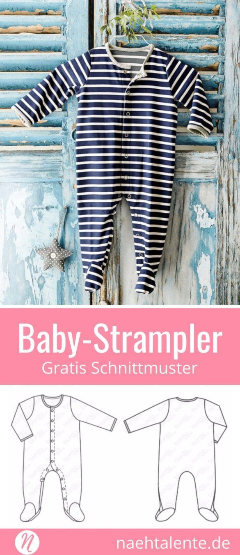 Freebook Baby Romper Free Sewing Pattern