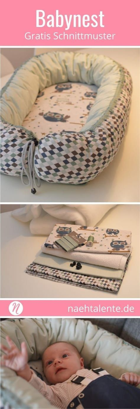 Freebook - sewing baby test yourself with instructions. Sew for your newborn a ...