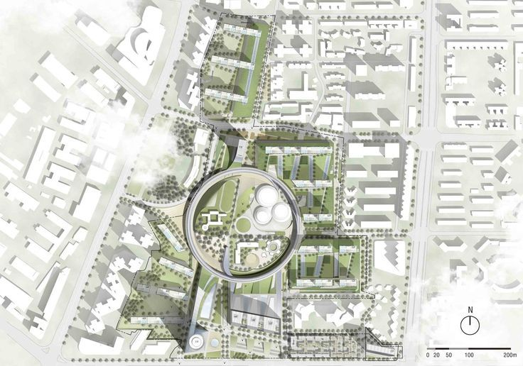 Gallery of Hanking Nanyou Newtown Urban Planning Design Proposal / Jaeger and…