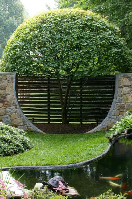Garden Boundary #Limitation #garden #garden design