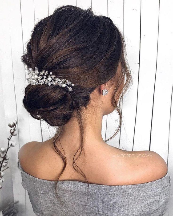 Gorgeous Wedding Hairstyles For the Elegant Bride | bridal updo hairstyles #wedd...
