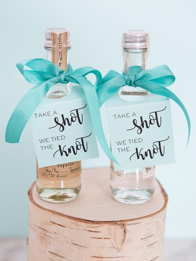 How cute are these little alcohol tags? These little drink can be used for multi...