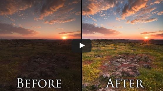 How to Process a Landscape Photo in 5 Minutes Using Photoshop #photography #phot...