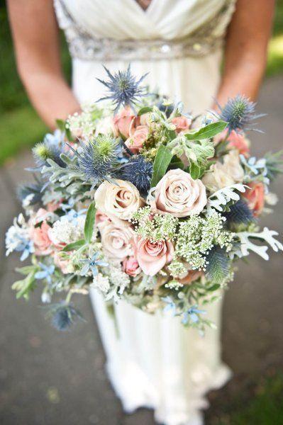 Inspiration – Hochzeit – Blau   www.weibi.at/...