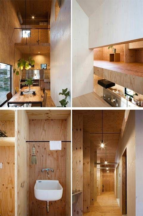 Japanese architecture with warm minimalism – Sustainable Architecture with War...