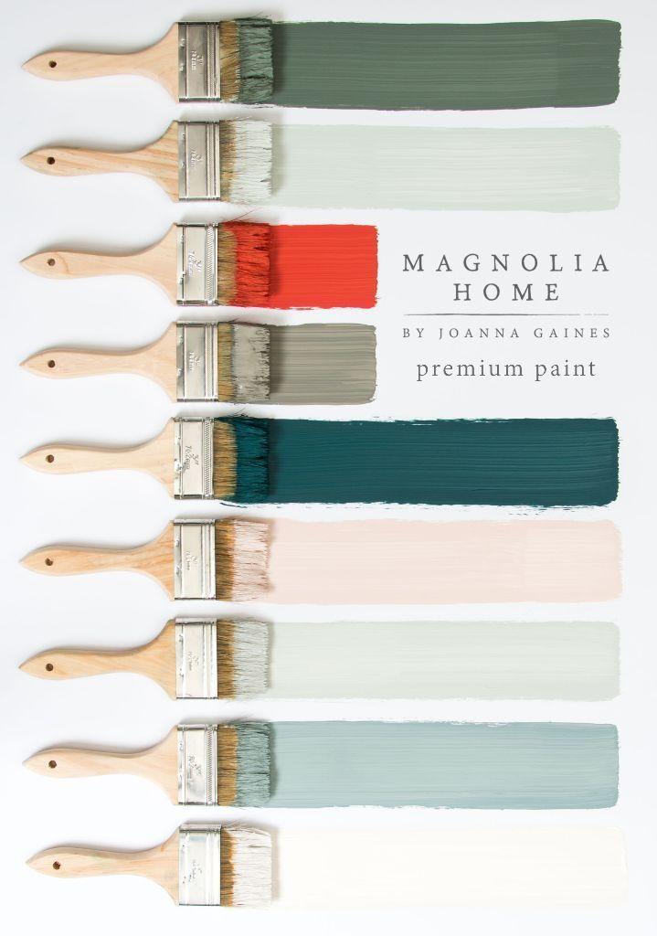 Joanna Gaines New Paint Line: Magnolia Home Paint - #Gaines #Home #Joanna #joann...