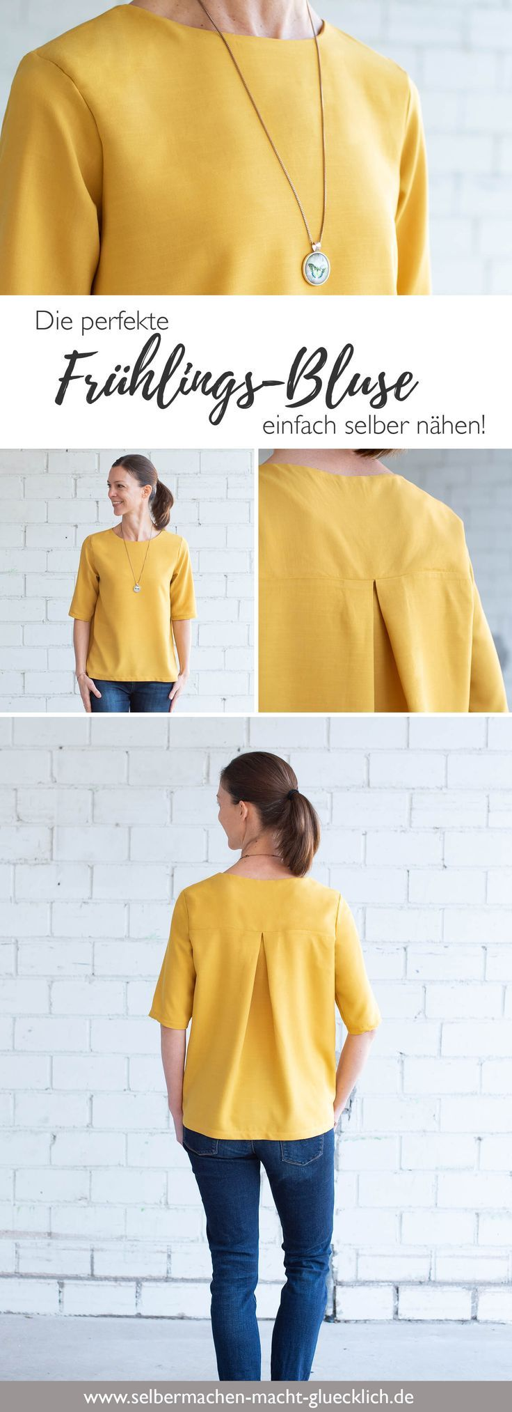Just sew the perfect spring blouse by yourself! More simple cuts ...