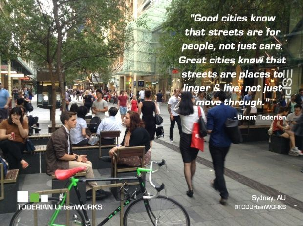 Let's Make Sticky Streets for People! | Planetizen: The Urban Planning, Desi...