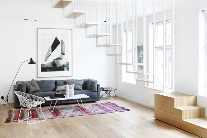 Light, white architectural delight in Oslo – Sustainable Architecture with War...