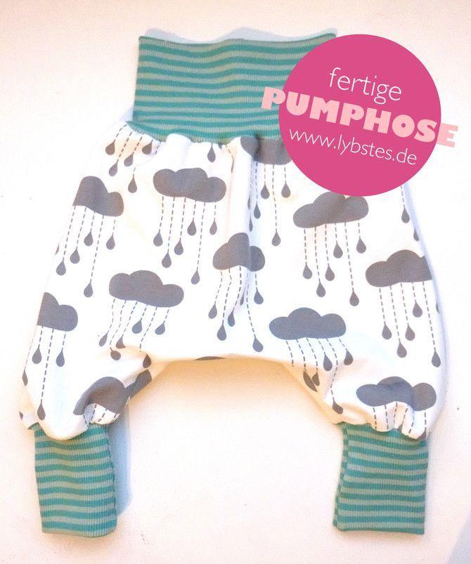Lybstes.de: Baby-Pumphose - kostenloses Schnittmuster, Freebie, fertig genähte ...
