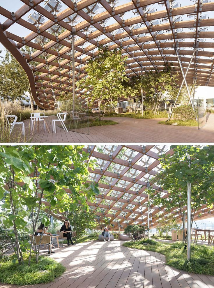 """MAD Architects together with Hanergy have created """"Living Garden"""", a modern pavi..."""