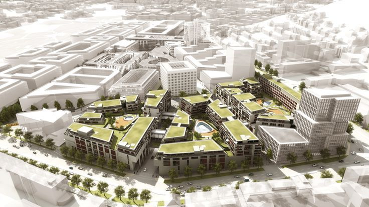 Milaneo / Quartier am Mailänder Platz, location: Stuttgart / GER - Hybrid Complex / W ...