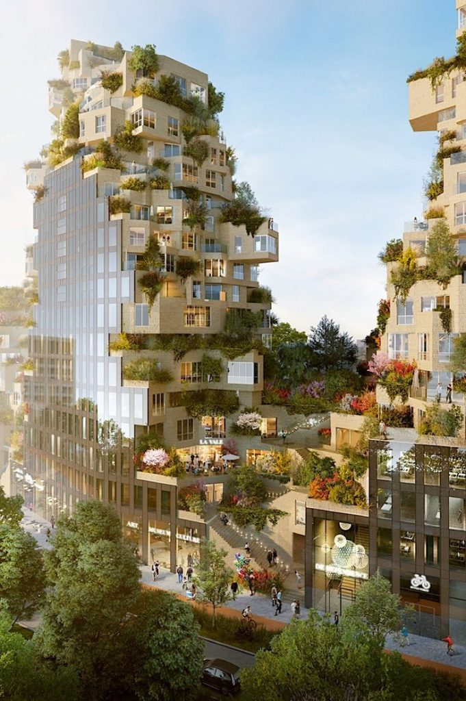 MVRDV builds a overgrown building in Amsterdam A few weeks ago, it was ...