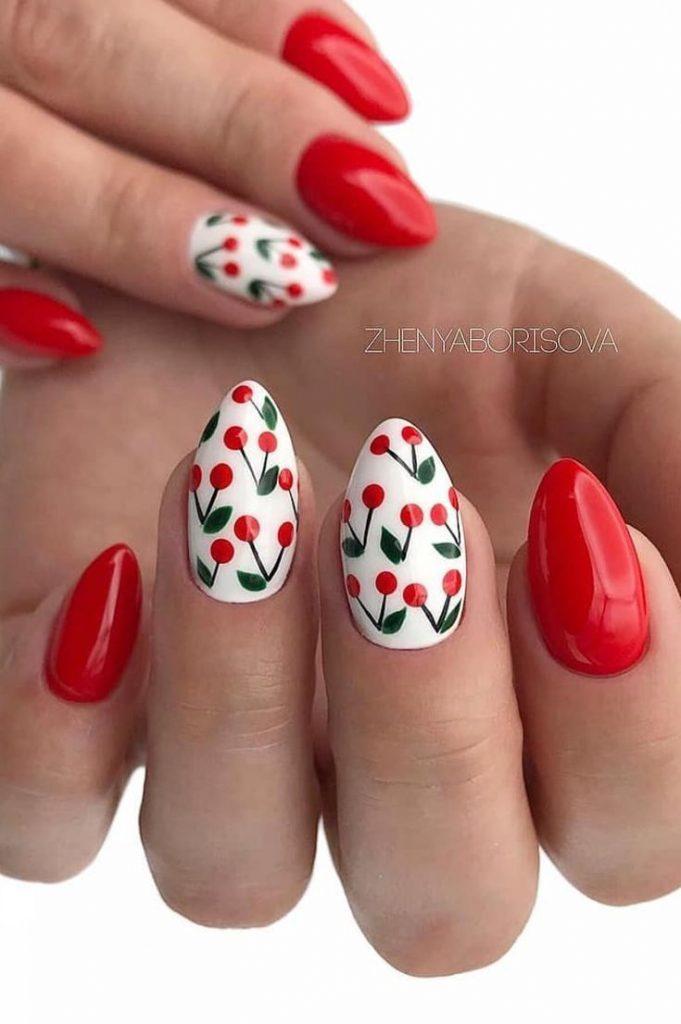 nails;nails acrylic;nails winter;nails acrylic coffin;nails acrylic short;acryli...