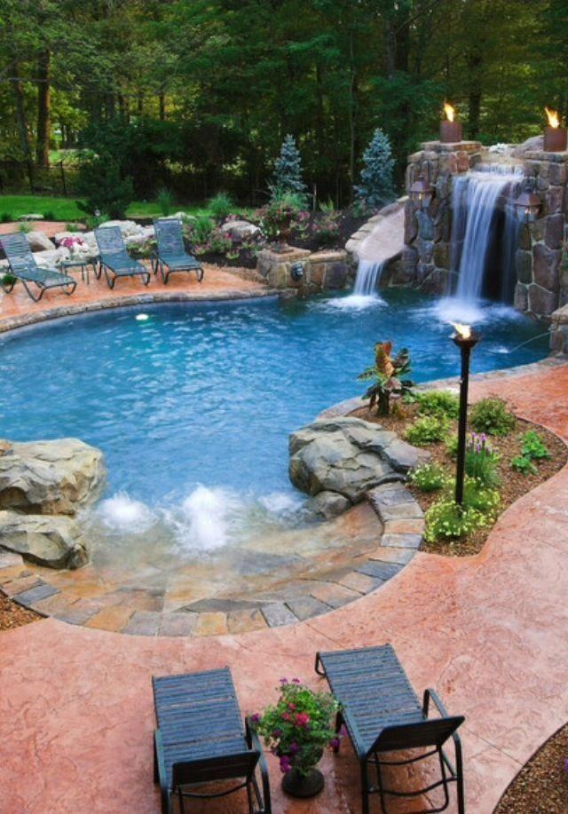 Swimming Pool Garden Design |  Ideal Plants for Poolside  Location |  Landscape ...