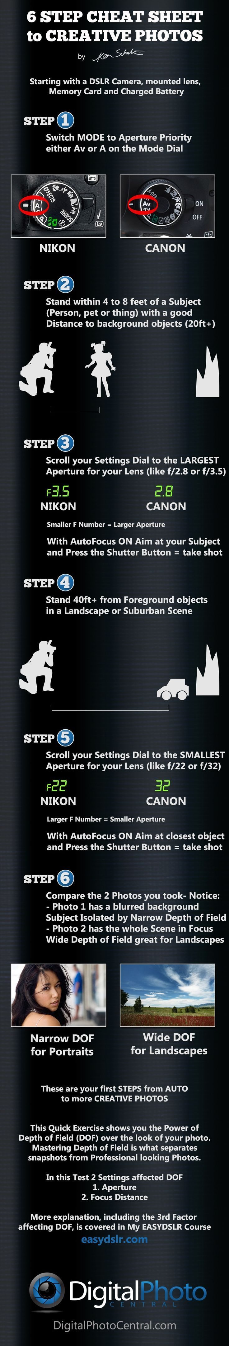 Photography Tips | How to take better photos | Download your free cheat sheet to...