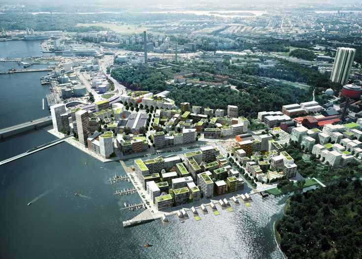 Plans for one of northern Europe's largest urban development areas unveiled.