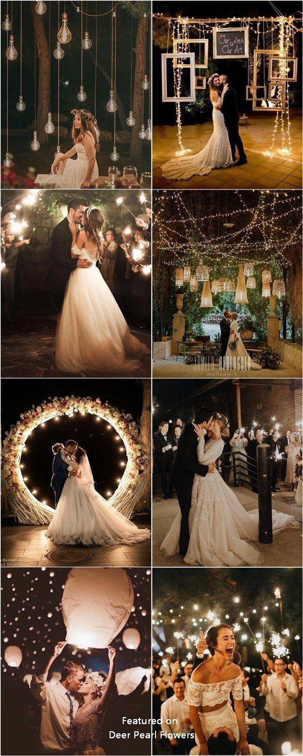 Romantic rustic country light wedding photo #weddings #weddingideas #weddingphot...