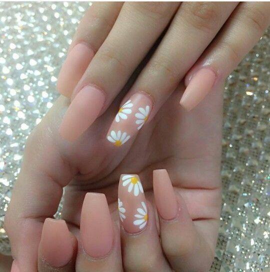 Schöne Coffin Nail Designs, die Sie ausprobieren möchten #nägel #ballerina #s...
