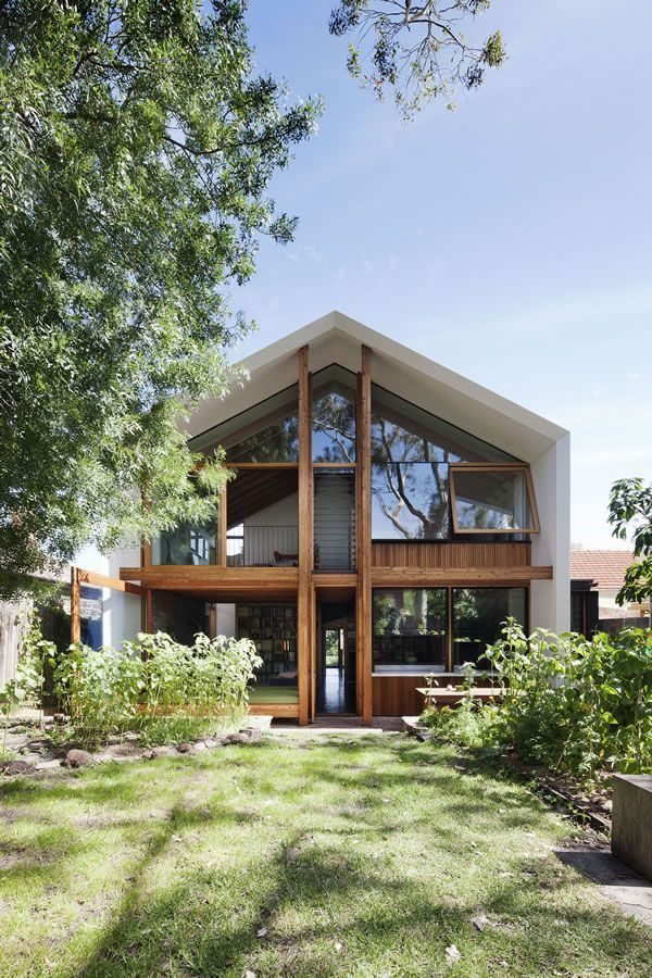 Sustainable house in Northcote VIC, Australia, a project by BKK Architects