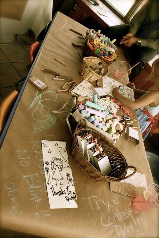 The best children's table ideas for your wedding table children's ideas wedding bes ...